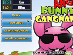 Angry Bunny Run Gangnam Style-FREE Ninja Escape 1.0 Screenshot
