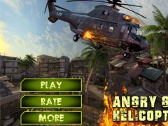 Angry Gunship Helicopter War 1.0 Screenshot