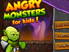 Angry Monsters for Kids HD 1.1 Screenshot