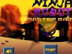 Angry Ninja Robot Master Maze FREE - Hunt for the Magical Sword Challenge 1.0 Screenshot