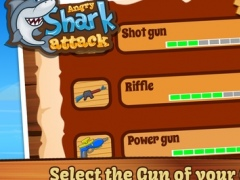 Angry Shark Attack - Hungry Fish Hunting in Deep Blue Sea 1.2 Screenshot