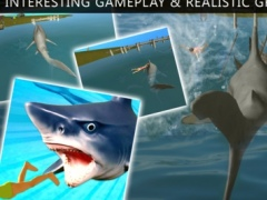 Angry Shark in the Deep Sea human attack for evolution 1.0 Screenshot