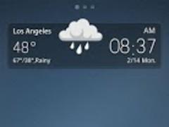 Angular GO Launcher Theme 1.0 Screenshot