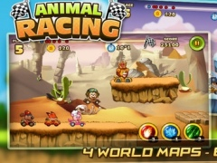 Animal Racing :Jungle Race Cartoon Adventure Games 1.0 Screenshot