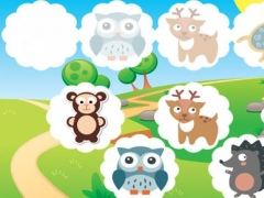Animated Animal-Puppies Memo Kids & Baby Games For Toddlers! Free Education-al Activity Learn-ing App To Train the Brain! Remember Me & Play With Joy 1.0 Screenshot