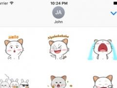 Animated Bunny Kitty 1.0 Screenshot