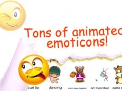 Animated Emoticons™ for MMS Text Message, Email!!!(FREE) 2.9.7 Screenshot