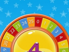 Animated Numbers Disc HD Free Lite 1.0 Screenshot
