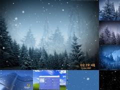 Animated SnowFlakes Screensaver 2.9.8 Screenshot