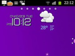 Annadroid Go Launcher Ex Theme 1.0 Screenshot