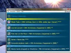 Anniversaries Reminder 3.22 Screenshot