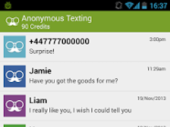 Anonymous Texting 3.1.6 Screenshot