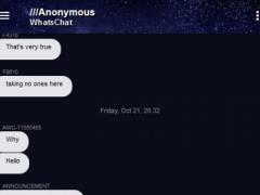 Anonymous WhatsChat Pro 3.0.2 Screenshot