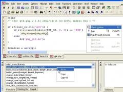 Antechinus PHP Editor 2.0 Screenshot