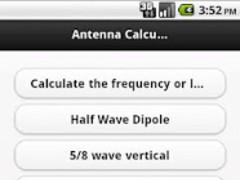 Antenna Calculator 2.0.0 Screenshot