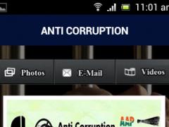 Anti Corruption App 1.2 Screenshot