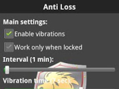 Anti Loss - monitor your phone 1.2.1 Screenshot