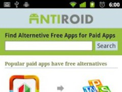 Antiroid- Alternative Free App 1.0 Screenshot