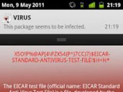 Antivirus TESTVIRUS 2.6.2 Screenshot