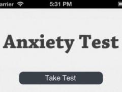 Anxiety Self Test 1.3 Screenshot
