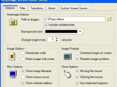 AnyImage Screen Saver 1.05 Screenshot