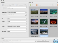 PearlMountain JPG to PDF Converter 1.2.0 Screenshot