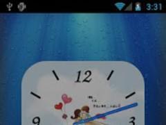 Anytouch Clock Free Theme 1.1 Screenshot