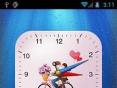 Anytouch Clock Pro LockerTheme 1.2 Screenshot