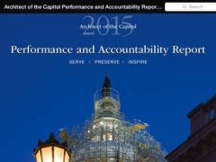 AOC Performance and Accountability Report 2015 14.4 Screenshot