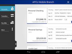 APCU Mobile Branch 5.7.1.0 Screenshot