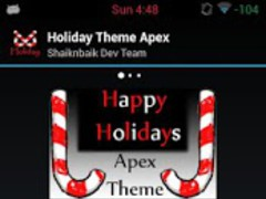 Apex Theme Holiday 1.1 Screenshot