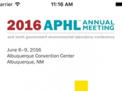 APHL 2016 Annual Meeting 1.0 Screenshot