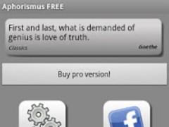 Aphorisms & Quotes FREE 1.0.0.8 Screenshot