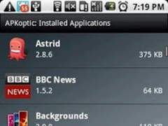 APKoptic 1.0 Screenshot