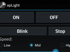apLight flash light 2.0 Screenshot
