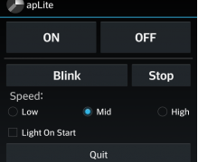 apLite flash light 2.0 Screenshot