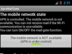 ApnMailGate 3.0.0 Screenshot