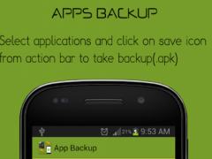 App/Contact Backup & Restore 1.3 Screenshot