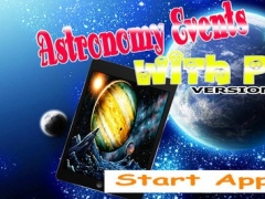 App Guide for Astronomy Events with Push 1.1 Screenshot