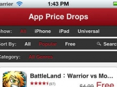 App Price Drops by Apple Sliced 1.22 Screenshot
