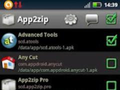 App2zip 1.06 Screenshot