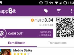 appBit - Bitcoin Wallet 1.0.5 Screenshot