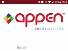Appen Mobile Recorder 1.5.2 Screenshot