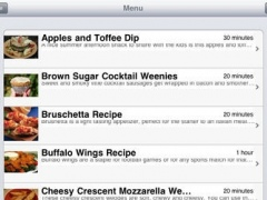 Appetizers & Snacks for iPad 1.1 Screenshot