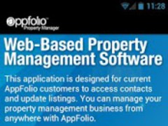 AppFolio 1.0 Screenshot