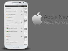 Apple News (iPhone 6 & iOS 7) 1.2.1 Screenshot