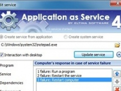Application as Service 4.0.160 Screenshot