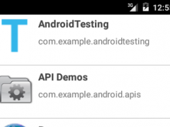 Applications Chat for Android 2.0 Screenshot