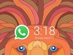AppLock Theme Lion-Fingerprint 1.0.0 Screenshot