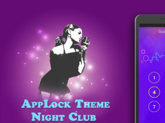 AppLock Theme Night Club 1.1.1 Screenshot